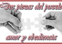 Dos piezas del puzzle, amor y obediencia