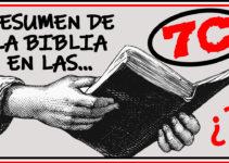 Resumen de la Biblia en las 7C